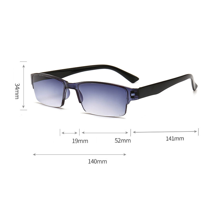 iboode Retro Ultra Light Reading Glasses Men Women Half Frame Glasses For Read Unisex Resin HD Eyewear +1.0 1.5 2.0 2.5 3.0 Male Eye Sight Glasses Goggles Home, Pets and Appliances 7fbb8c2a551aaaea0fd30c: +100|+150|+200|+250|+300|+350|+400