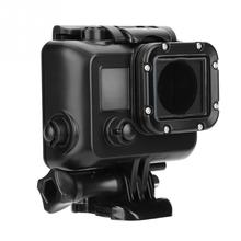 45m Diving Waterproof Action Camera Housing Case Protector Cover Black for Gopro Hero 3/3+/4 Action Sports  Protective Case