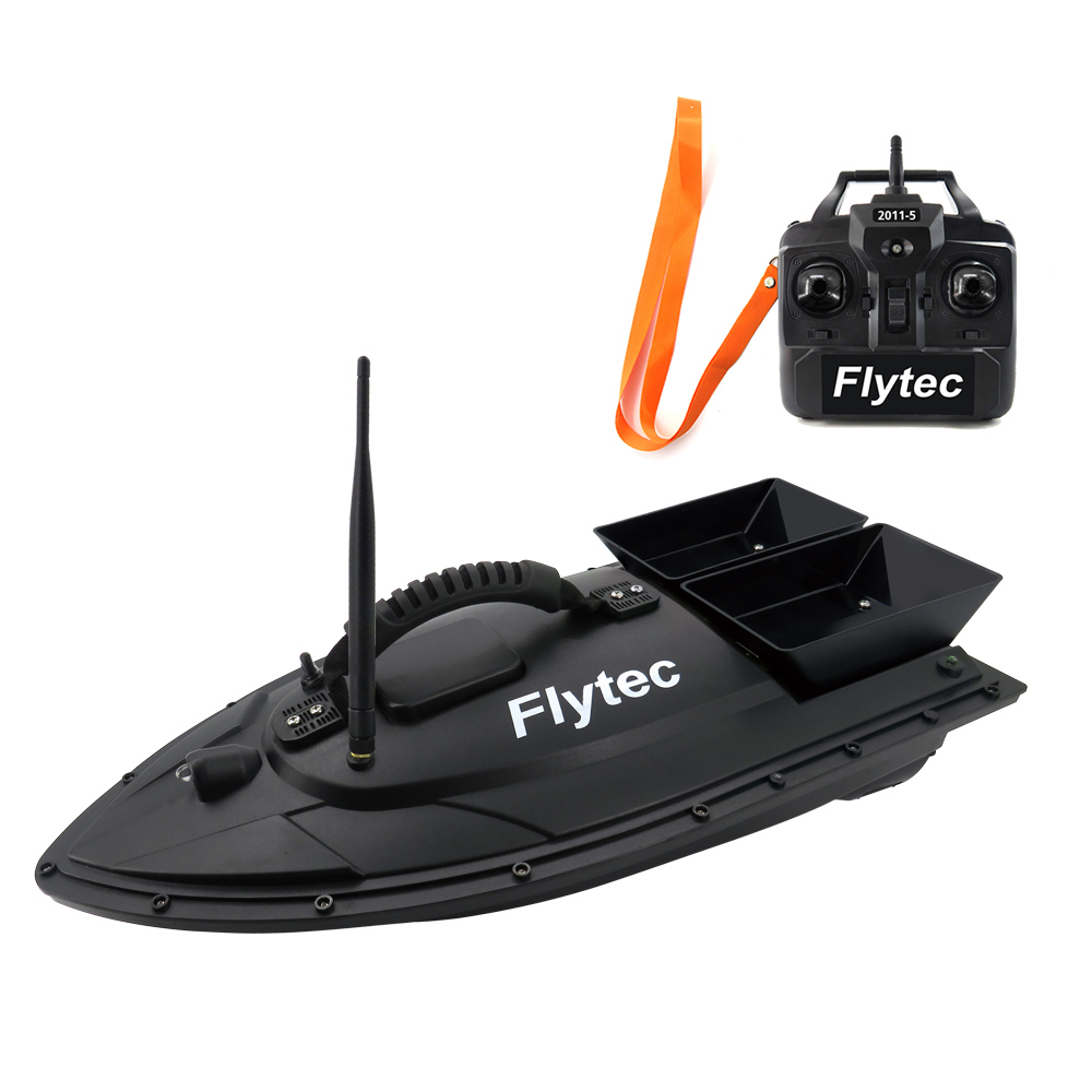 Flytec HQ2011 5 Radio Control RC Boats Fishing Tool Smart RC Bait Boat Toy Remote Control Boats Toys Kit RTR Version Boat Toys