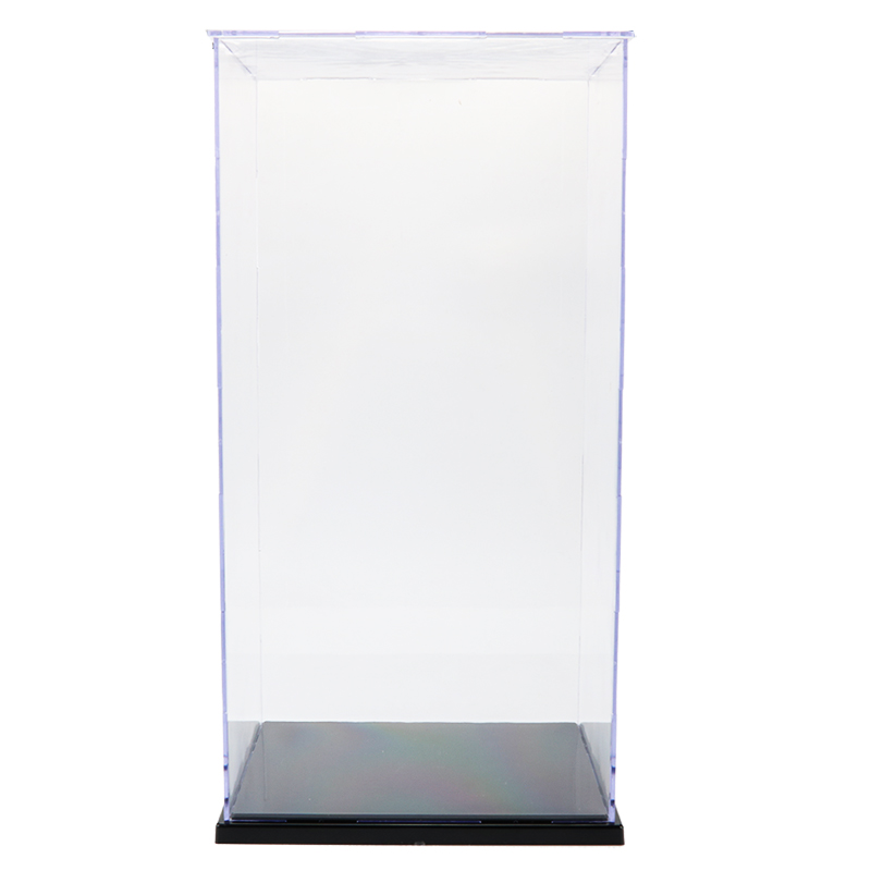 Image 3 - Dust Proof Display Case Toy Assembled Acrylic Plastic Transparent Display Box For Action Figures Building Kits Toys For AdultModel Accessories   -