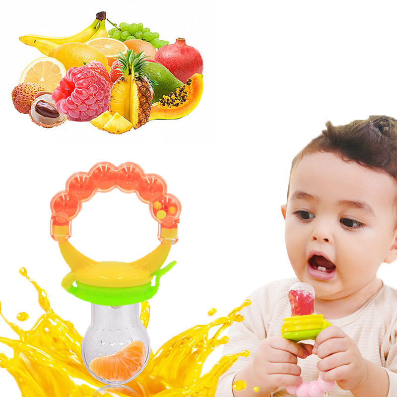 New Kids Nipple Fresh Food Milk Nibbler Feeder Feeding Safe Baby Supplies Nipple Teat Pacifier Bottles Baby Pacifier Dummies