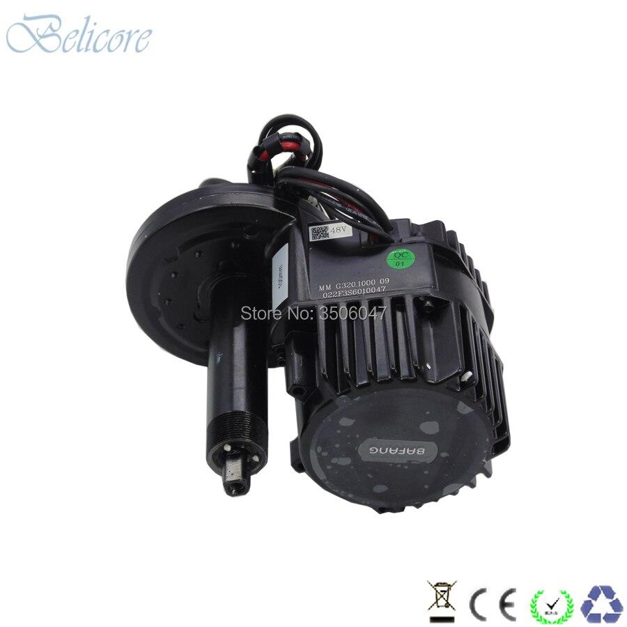 BB 100mm BB 120mm BB 68mm Bafang BBSHD 48 V 1000 W bafang kits de moteur d'entraînement moyen avec affichage couleur 850C