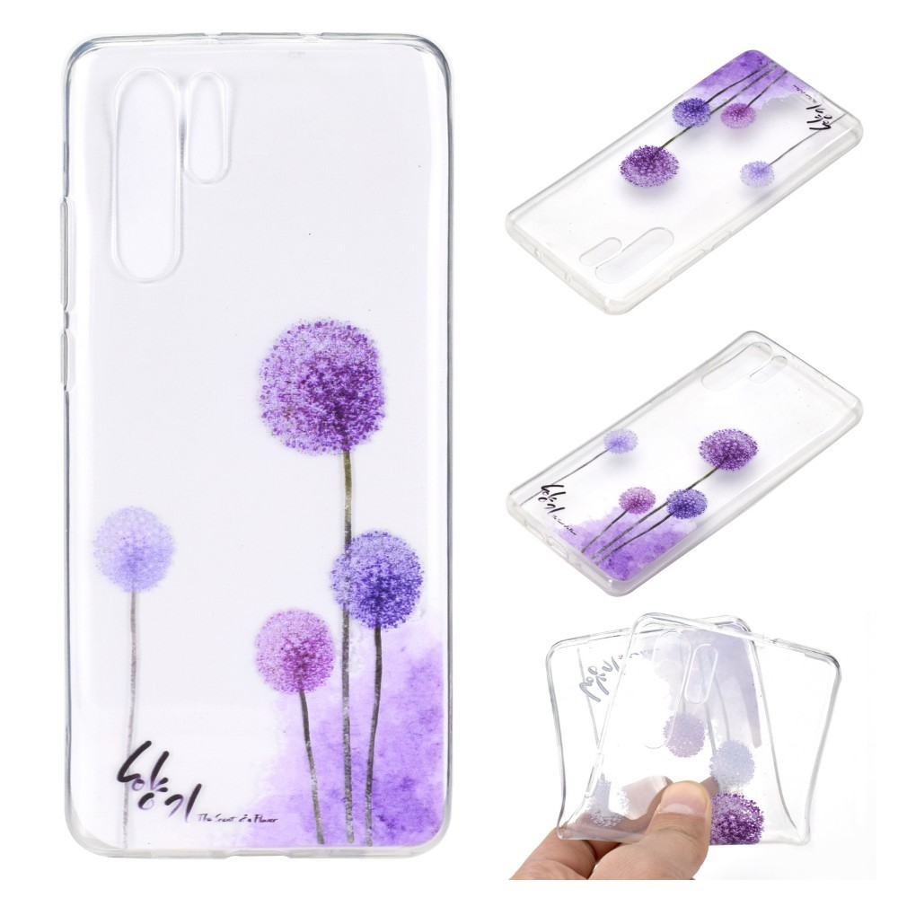 Phone Case For Huawei P30 P30pro Ultra Thin Soft TPU Silicone Cartoon Cases Mandala Flower Marble Pattern Cover Capa P30 Pro