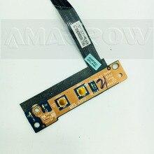 Placa de interruptor de botón de encendido, cable de LS 6753P de 9cm y 13,5 cm, para lenovo G570, G575, G470, G475