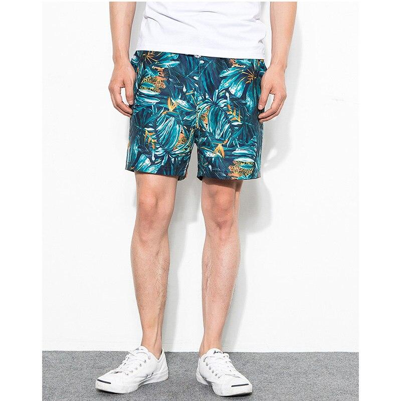 2019 Summer Newest Beach   Shorts   Men   Board     Shorts   Swimwear   Short   De Bain Homme Bermuda Boardshort Quick Dry Floral Beach pants