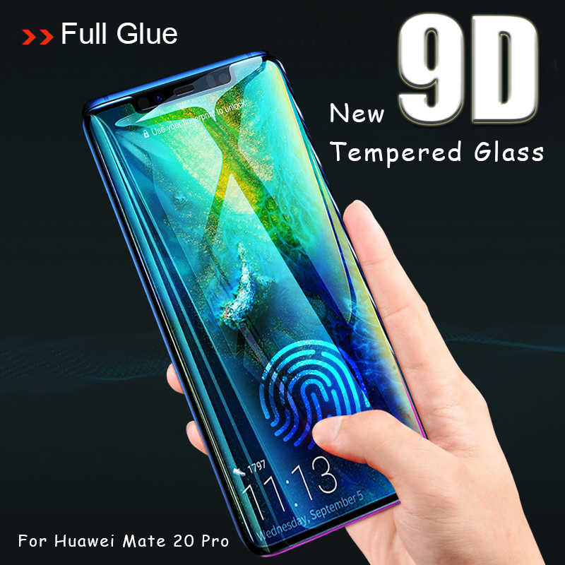 9D Protective Glass for Huawei Mate 20 lite Screen Protector Tempered Glas Huavei Mate20pro Light Matte 20pro 20lite Cover Film