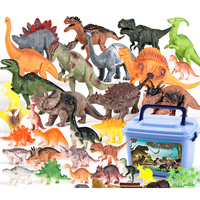 30 Styles Dinosaur Simulation Model Figure Children Early Education Cognition Playing Set for Kid Learning Nature Kits