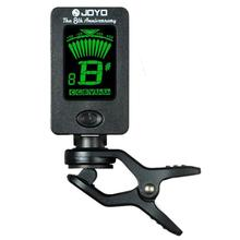 JOYO JT-01 Guitar Tuner Adjustable High-sensitive Mini Digital LCD Clip-on Tuner for Guitar Bass Violin Ukulele Part Accessories joyo jt 35