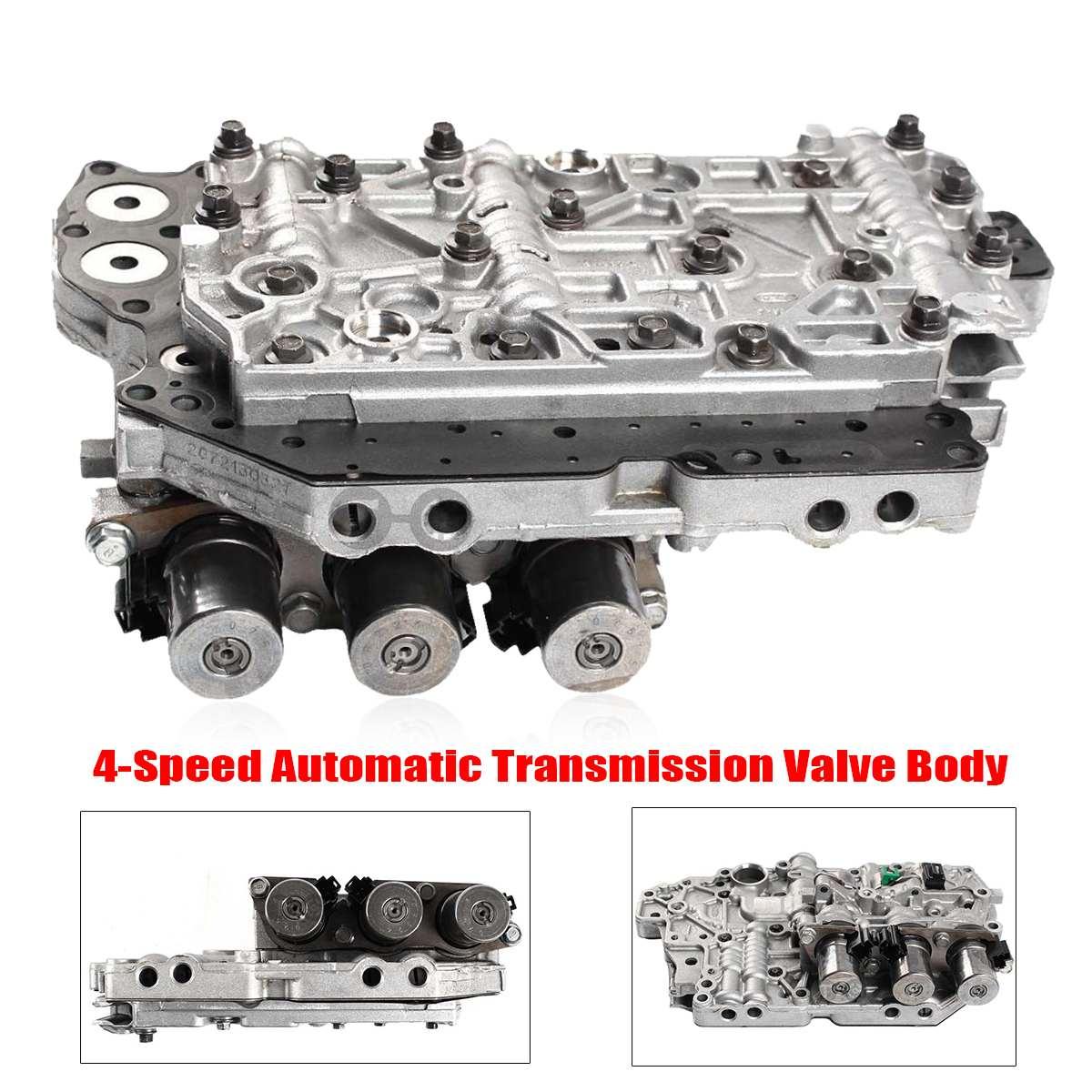 Corps automatique de Valve de la Transmission 4F27E de 4 vitesses avec le solénoïde pour la Transmission automatique de rechange de Ford/Mazda partie le métal Durable