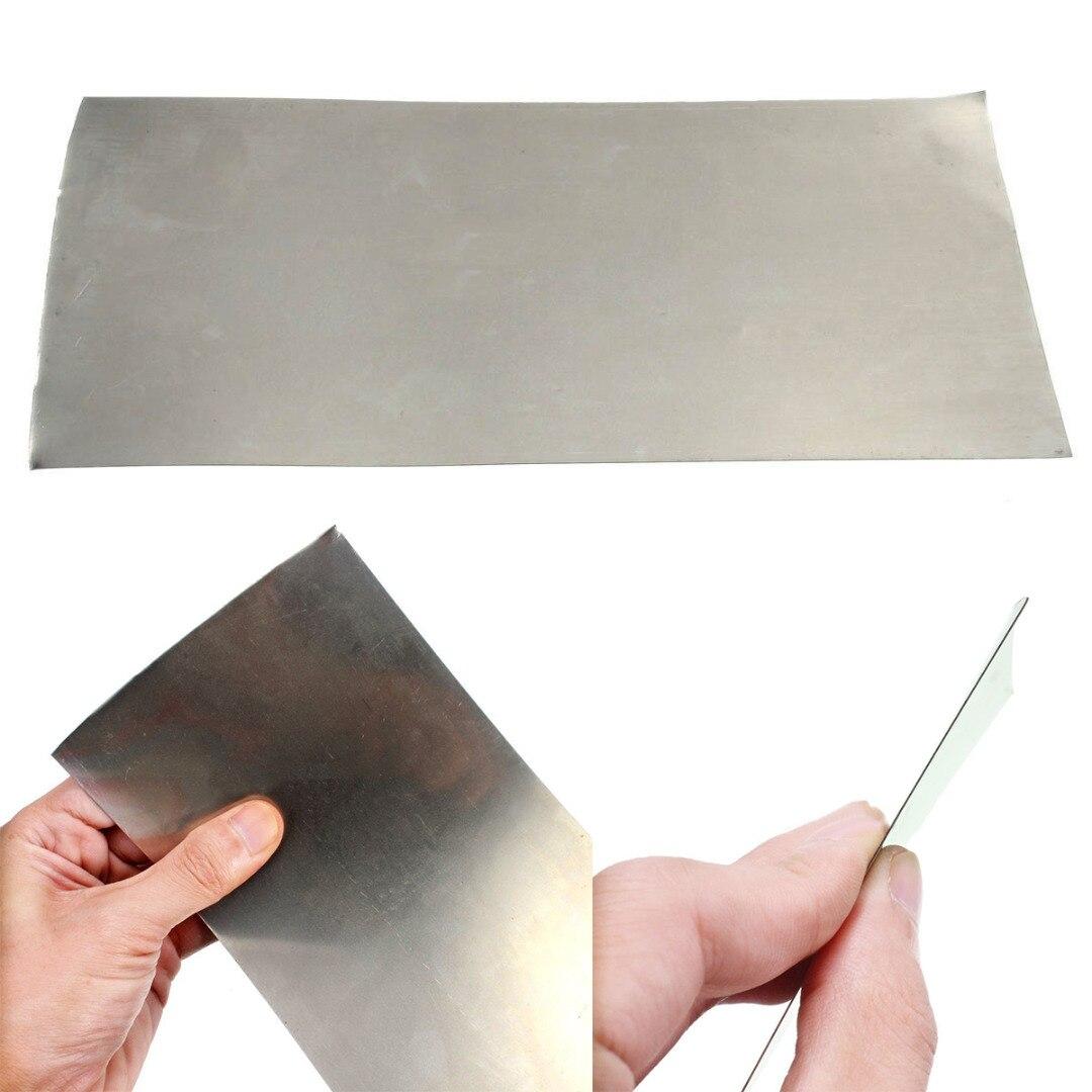 DWZ  1pc New High Purity Thin Sheet Nickel Plate Foil 0.3*100*200mm Metal IndustryDWZ  1pc New High Purity Thin Sheet Nickel Plate Foil 0.3*100*200mm Metal Industry
