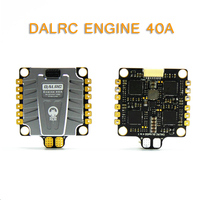 DALRC ENGINE Pro 40A 3 5S Blheli_32 4 in 1 Brushless ESC DSHOT1200 Ready w/ 5V 3A BEC Updated Version 40A For RC Models Parts