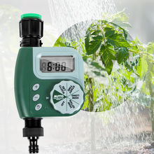 Outdoor Garden Irrigation Time Watering Controller Solenoid Valve Timer Automatic Irrigation Controller for Yard DIY Farm Garden