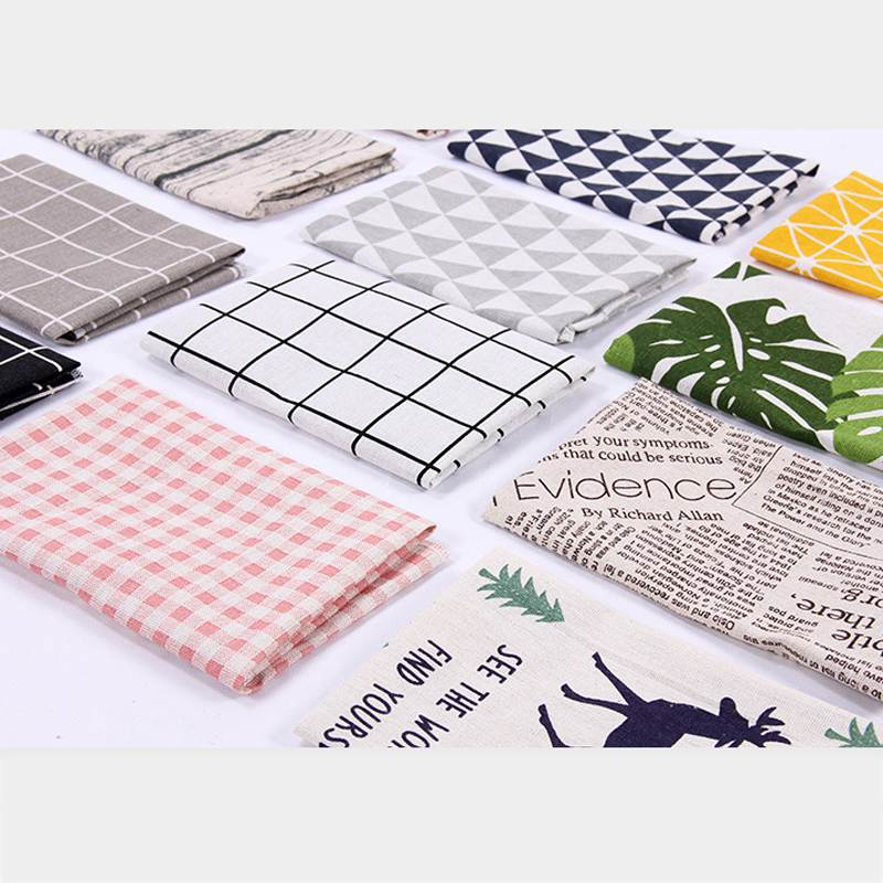 30*40cm High Qaulity Photography Background Photo Studio Shooting Mini Plaid Tablecloth Ins Style Photography Backgrounds Cloth