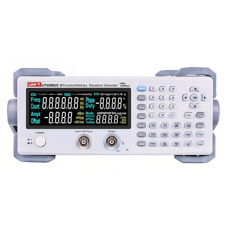 UNI T UTG9002C-II Signal Sources Digital Signal Generator Function Generator 0.2Hz-2MHz Frequency Meter Upgraded From UTG9002C