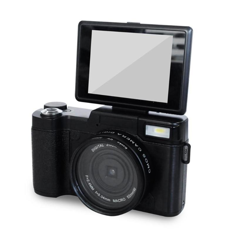 P10 цифровой Камера 1080 P 15fps Full HD 24MP 3,0 дюймовый поворотный ЖК-дисплей Экран CamVideo видеокамера Широкий формат объектив Камера s