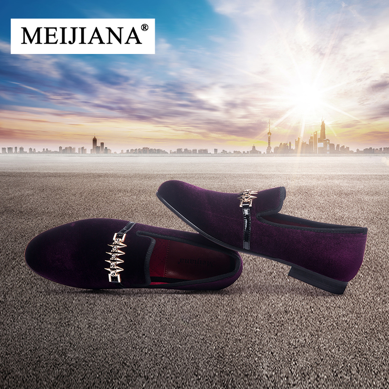 MEIJIANA Loafers Driving-Shoes Casual-Shoes Non-Slip Black Breathable Luxury Brand Men's