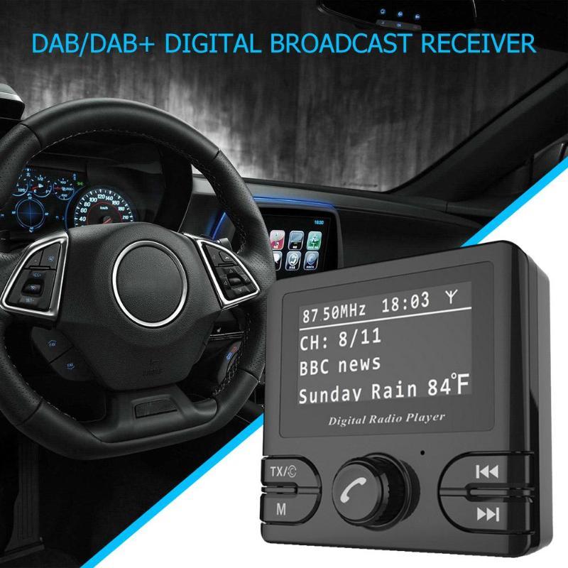 Kit voiture mains libres 2.4in LCD sans fil Bluetooth FM transmetteur LCD lecteur MP3 USB chargeur 5 V Micro-USB voiture accessoires mains libres