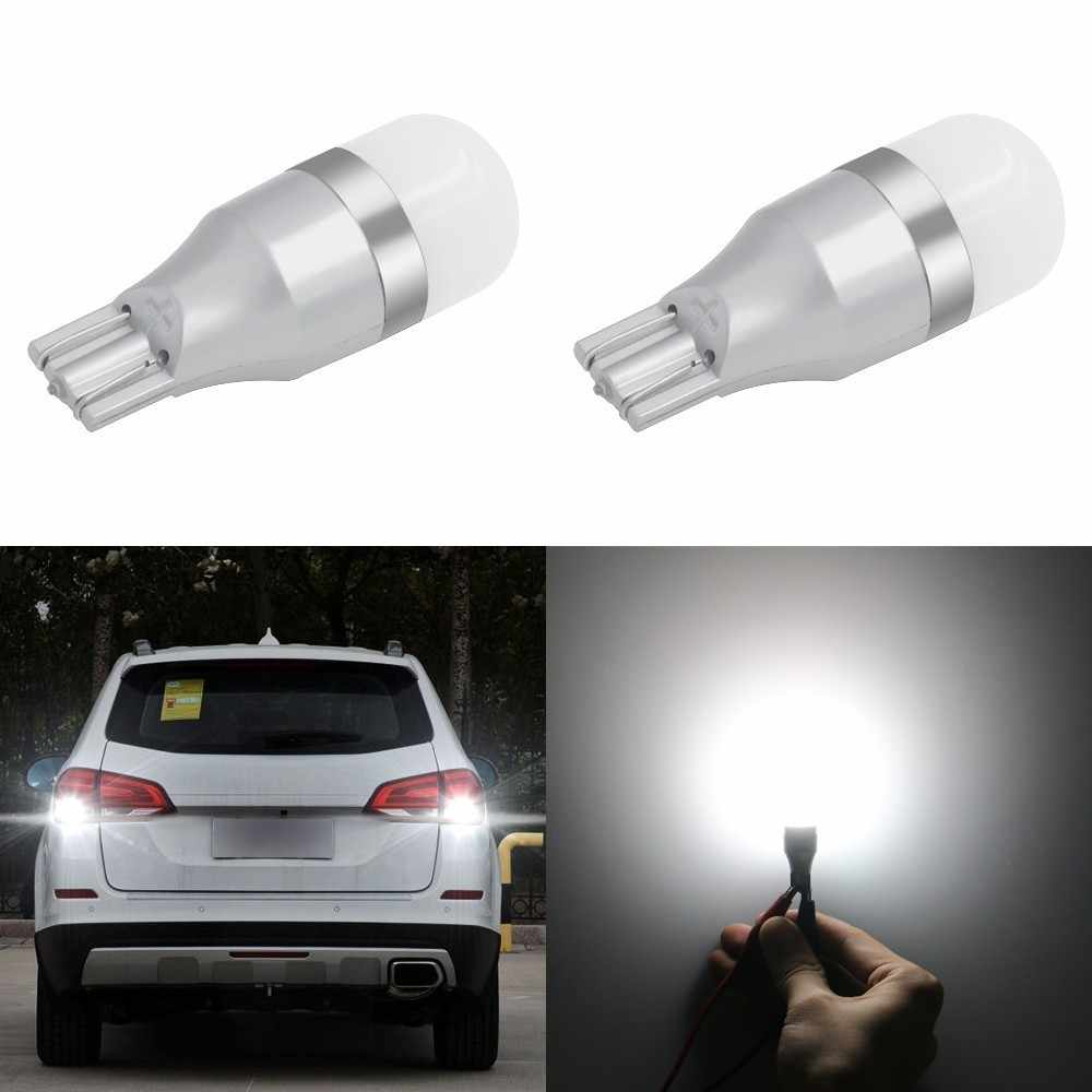 Hot Sale 1 Piece T15 W16W LED Reverse Backup Parking  Light Bulb 920 921 912 Canbus 3030 5SMD High Power LED Lamp Bulbs DC12V
