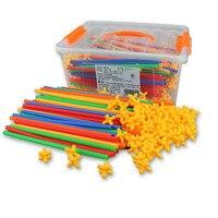 4D Space Children Splicing Blocks Assembling Creative Educational Toys Building Blocks Construction Toys For Children Designer
