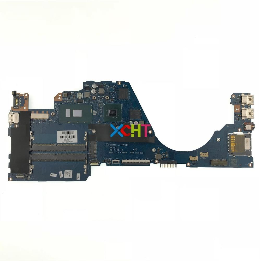 930576-601 930576-001 DCM40 LA-F031P w 940MX/2GB w i7-7500U CPU for HP Pavilion Laptop 14-bf Series Motherboard Mainboard Tested