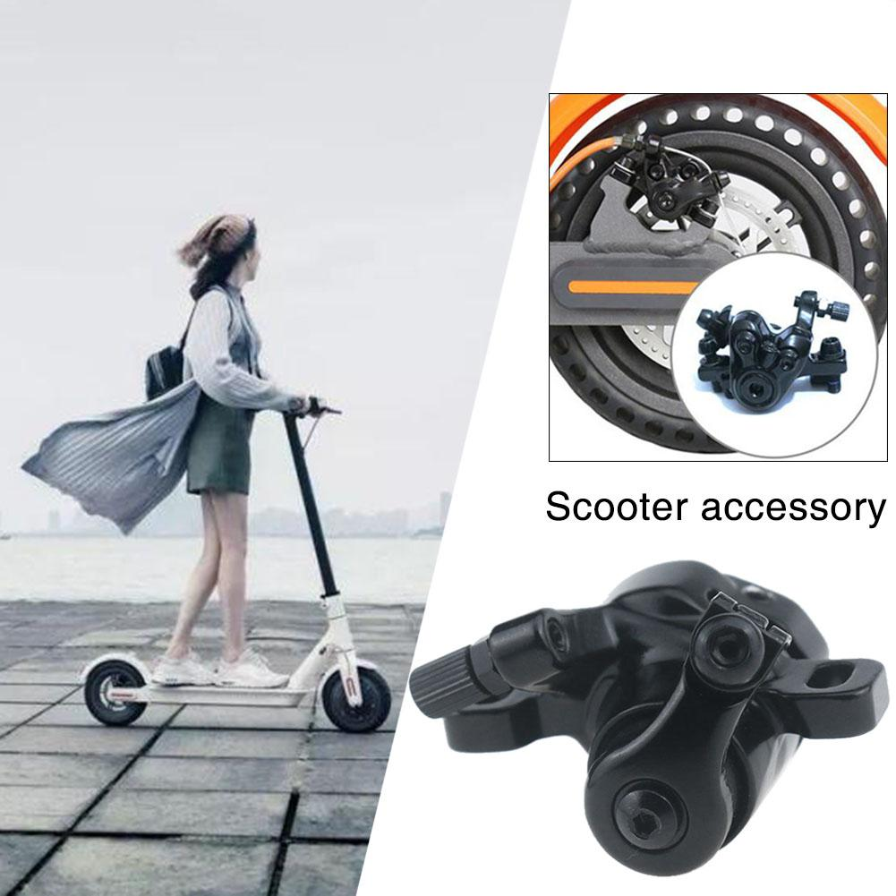 New Durable And Solid Brake Disc Brakes For Xiaomi M365 Electric Scooter Abs Metal Mechanical Brakes Left Disc Brakes Black