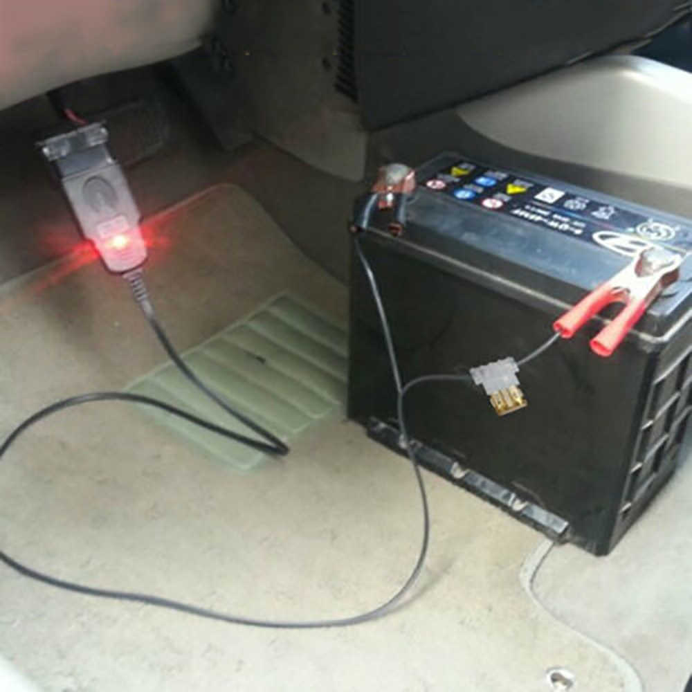 Professional Universal OBD2 ยานยนต์เปลี่ยนแบตเตอรี่เครื่องมือรถ ECU Memory Saver แหล่งจ่ายไฟฉุกเฉินอัตโนมัติสาย