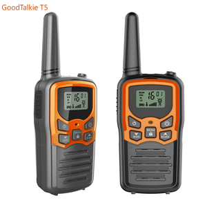 Image 5 - 2pcs GoodTalkie T5 long range two way radios travel walkie talkie 10 km