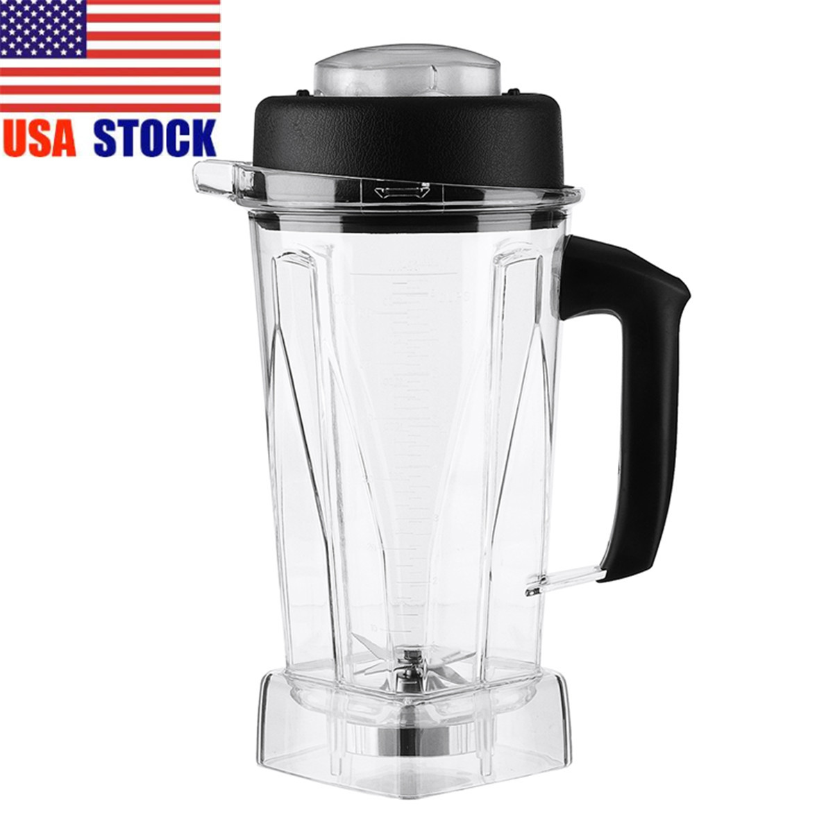 2L Container Jar Jug Pitcher Cup Commercial Blender/ Spare Parts For Vitamix 60oz Home Kitchen Appliance Food Mixer Part Durable