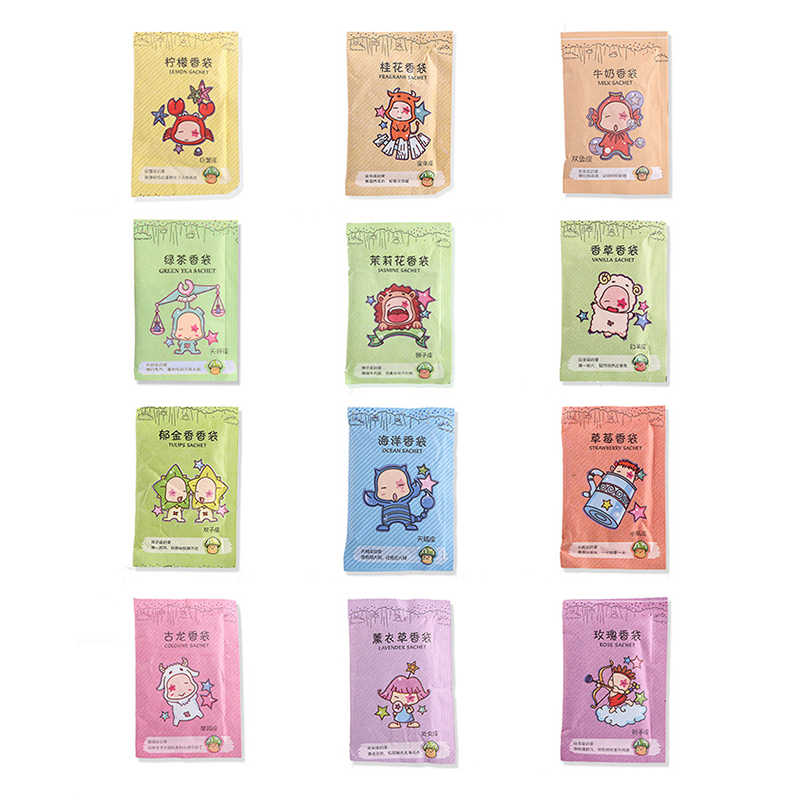 12x Natural Aromatherapy Natural Smell Incense Wardrobe Sachet Air Fresh Refresh