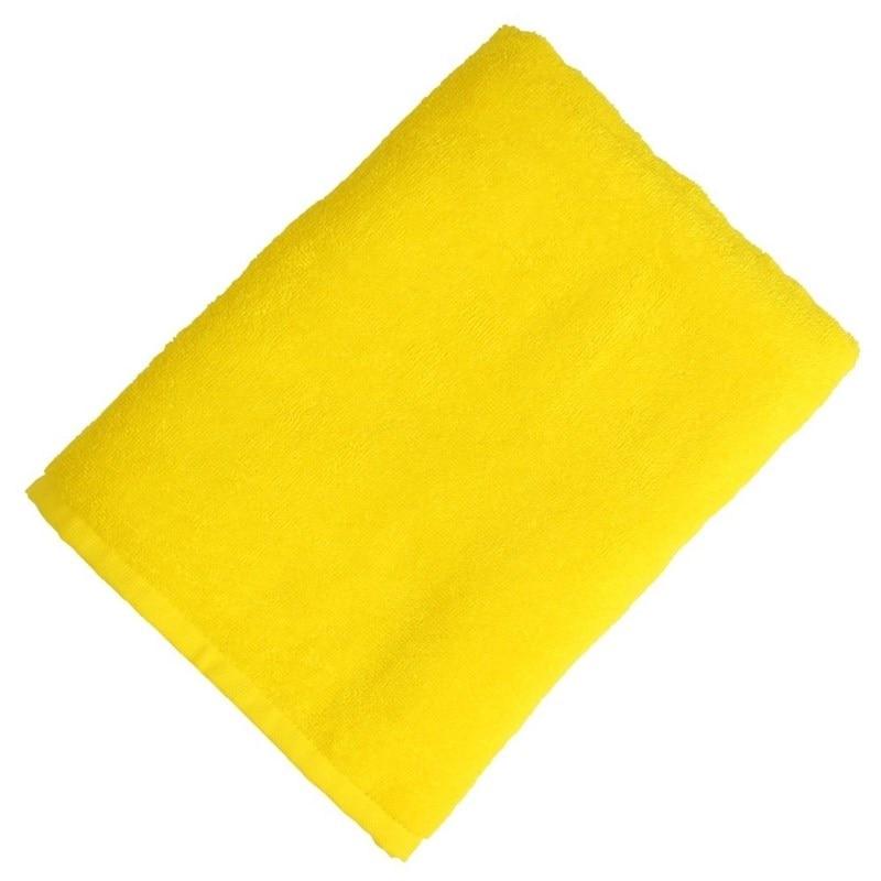 Towel Terry 70*130 cm yellow 1pcs heated towel rail holder bathroom accessoriestowel rack stainless steel electrictowel warmer towel dryer 120w