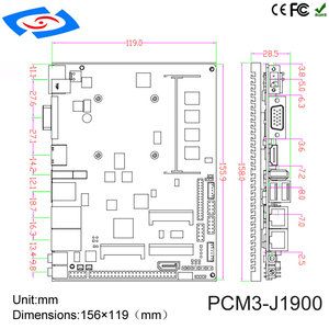 Image 5 - intel celeron n2930 processor fanless desktop mini pc for education/Call center/Smart meeting windows10 industrial computer