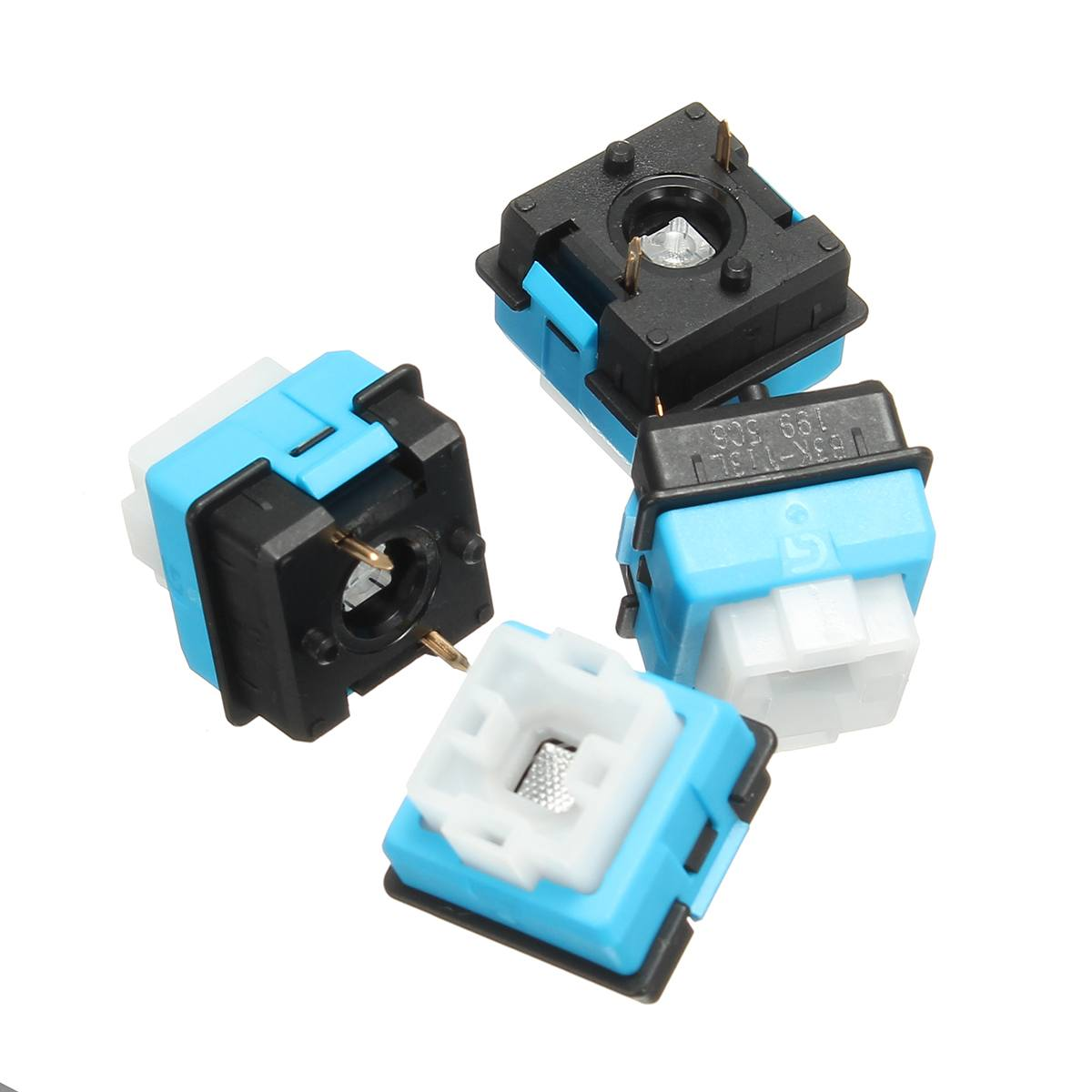 4pcs Original For OMRON Romer-g Switch For Ormon Axis For Logitech G910 G810 G310 Pro Mechanical Keyboard Switch RGB