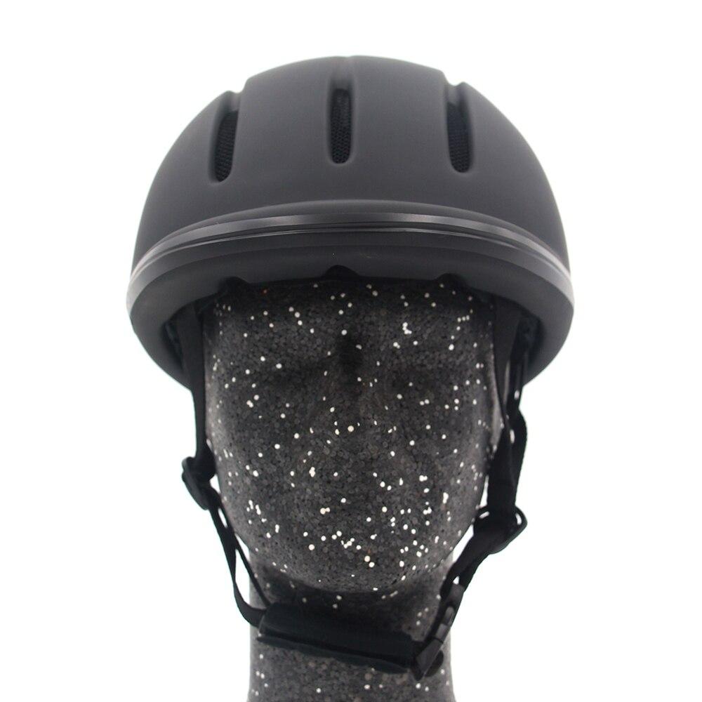 Casque professionnel d'équitation taille réglable demi-visage couvre-chef de protection équipement sécurisé pour les cavaliers de questrie