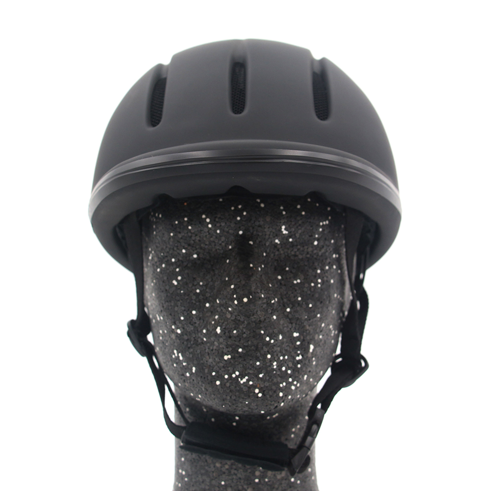 Professional Horse Riding Helmet Adjustable Size Half Face Cover Protective Headgear Secure Equipment for Questrian Riders-in Body Protectors from Sports & Entertainment