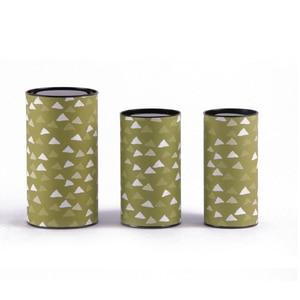Image 4 - Xin Jia Yi Embalagem Caixa de Papel Forma Redonda Hot Sale Presente Caixa de Gaveta de Papel Colorido Papel Da Folha de Alumínio de Qualidade Alimentar caixa