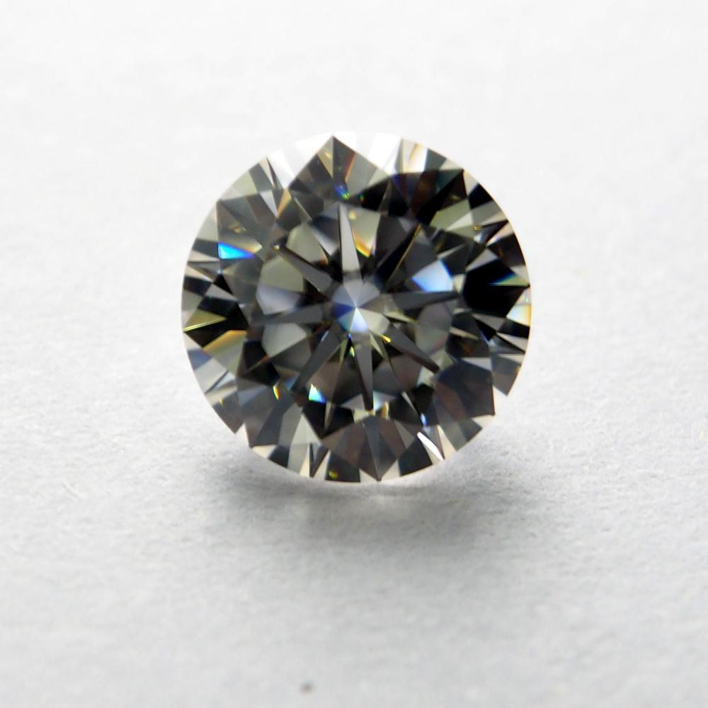 7 5mm DEF Round White MoissaniteSynthetic Moissanite Diamond 1 5 carat moissanite stone