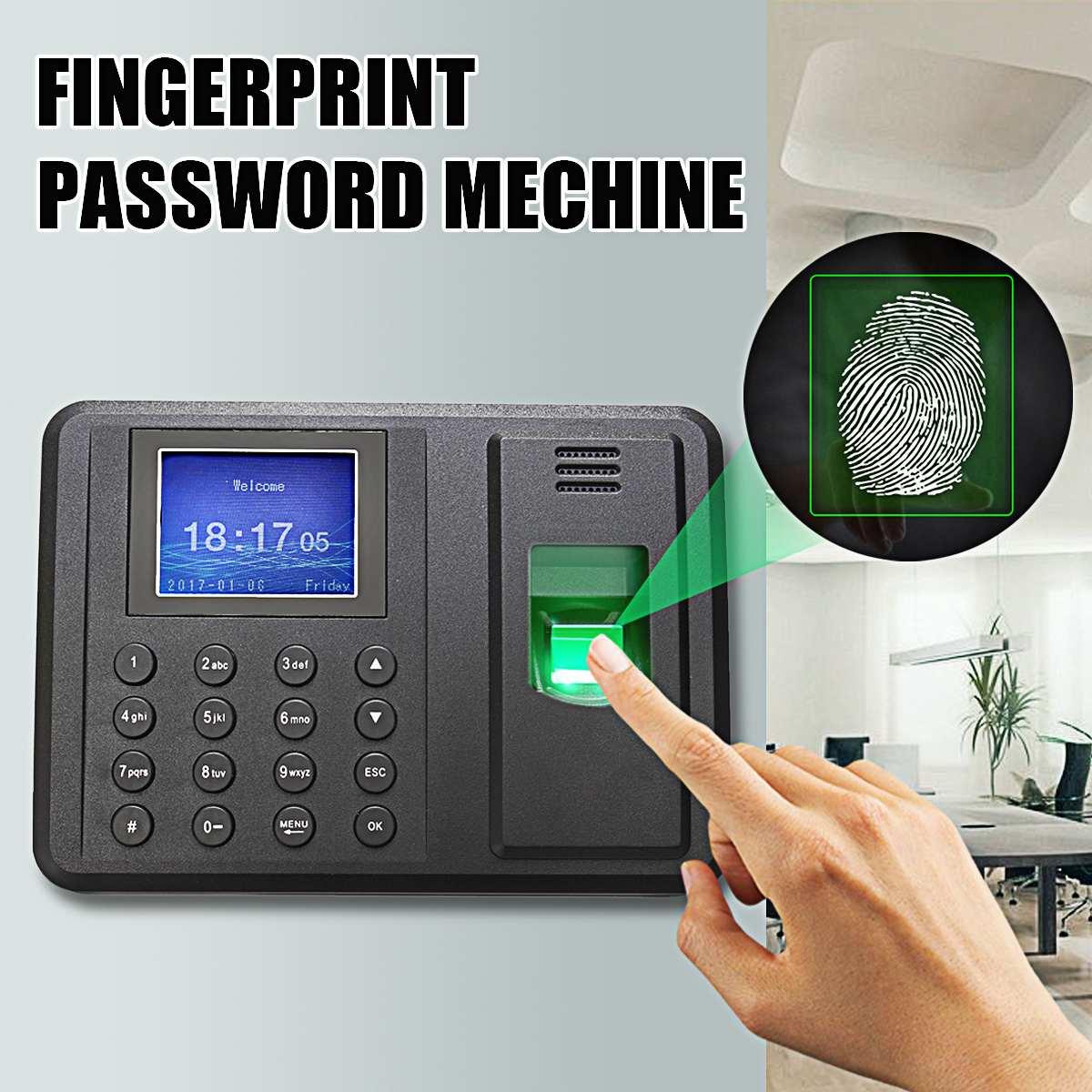 Mot de passe USB biométrique d'empreintes digitales temps bureau présence horloge enregistreur employé Machine de contrôle d'accès électronique