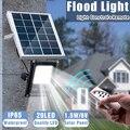 Mising Impermeabile Solare Proiettori 10 W Remote Control + Timer + Illuminazione di Controllo Lampade escursione e campeggio HA CONDOTTO Il Riflettore Lampada Da Giardino