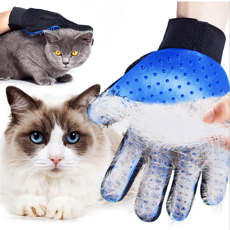 Cats Hair Brush Massage Dog Comb pet cat Grooming For Dogs Pet Glove Bath