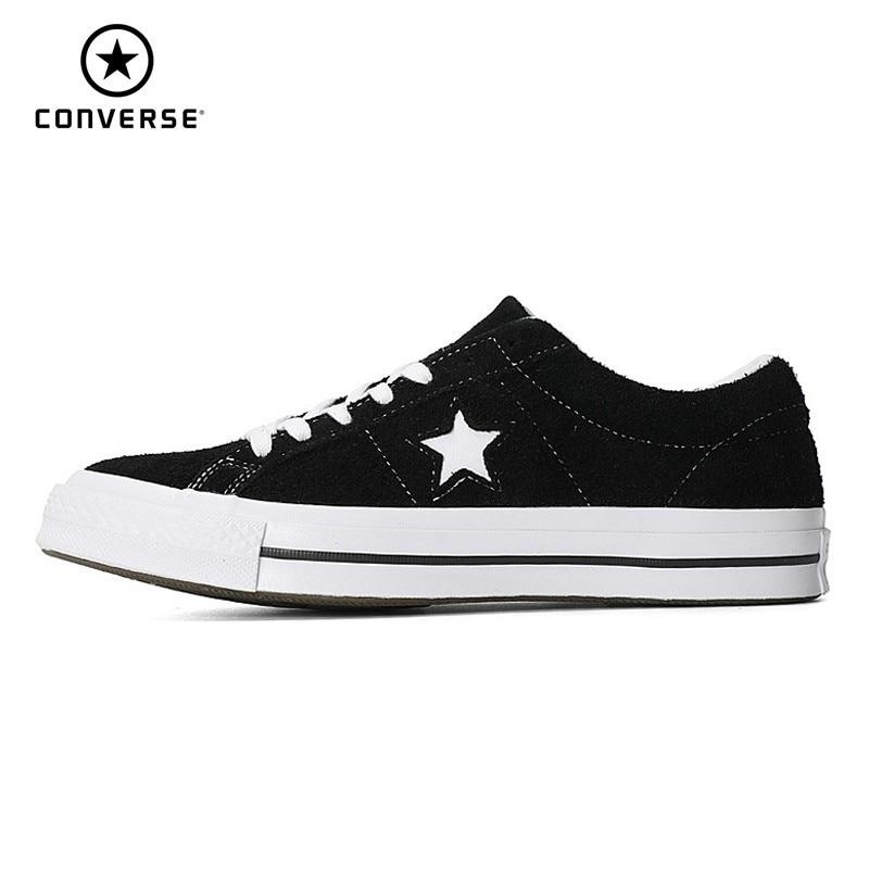 CONVERSE One Star classique Original toile hommes et femmes respirant skateboard chaussures bas Help mode baskets # 158369c/161613C