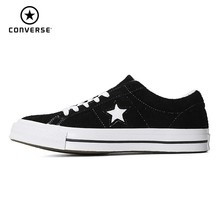 купить CONVERSE One Star Classic Original Canvas Men And Women Breathable Skateboarding Shoes Low Help Fashion Sneakers#158369c/161613C онлайн