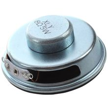 50mm 2 Dia. Magnetic Type Aluminum Shell Round Speaker 8 Ohm 5W цена