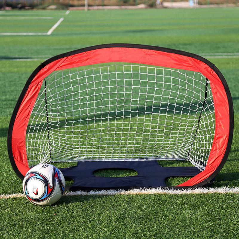 But d'entraînement de Football cible Portable objectif Net pliable porte d'entraînement de ballon de Football Extra-robuste pour l'entraînement de Football des étudiants
