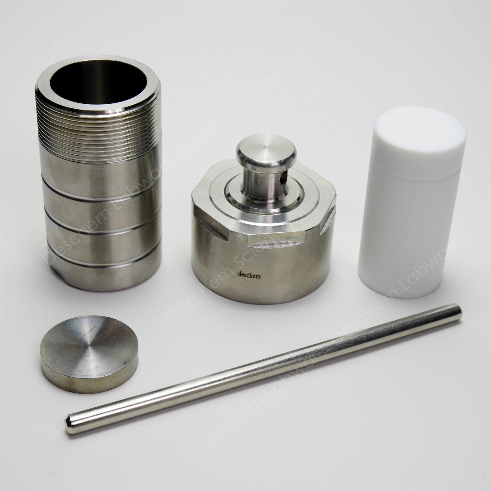 50ml PTFE Lined Hydrothermal Synthesis Reactor Stainless Steel Digestion Vessel