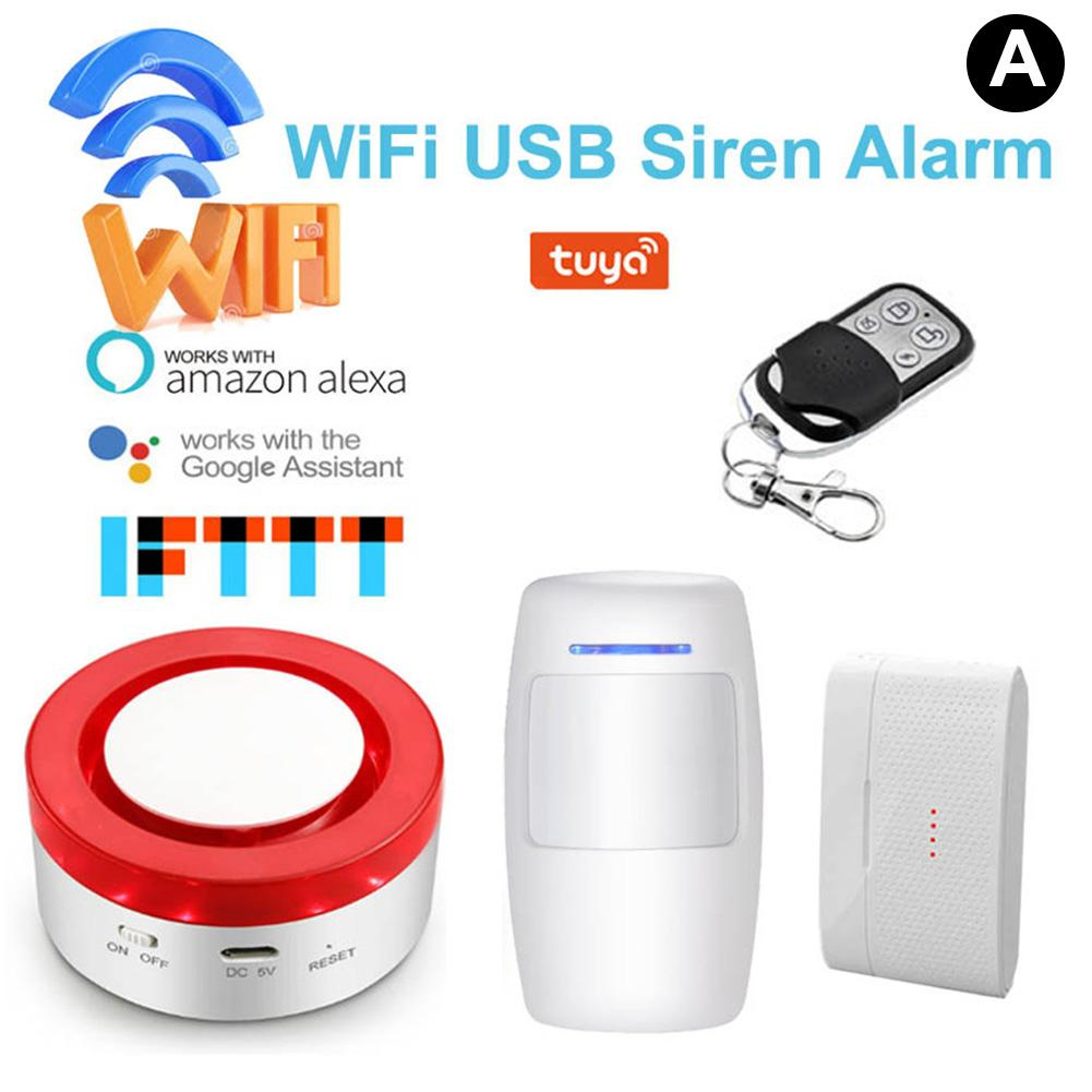Smart Home Wireless WiFi Security System Alarm SystemSmart Home Wireless WiFi Security System Alarm System