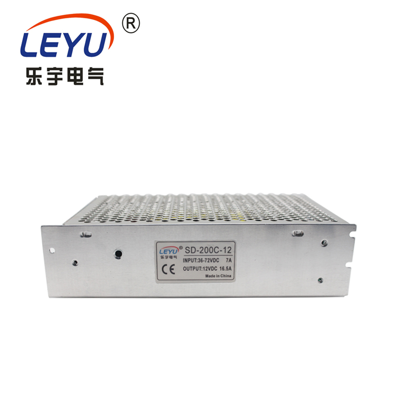 200W 24V 8.4A  SD-200B-24 sinlge output DC DC CONVERTER power supply for industrial equipment 200W 24V 8.4A  SD-200B-24 sinlge output DC DC CONVERTER power supply for industrial equipment