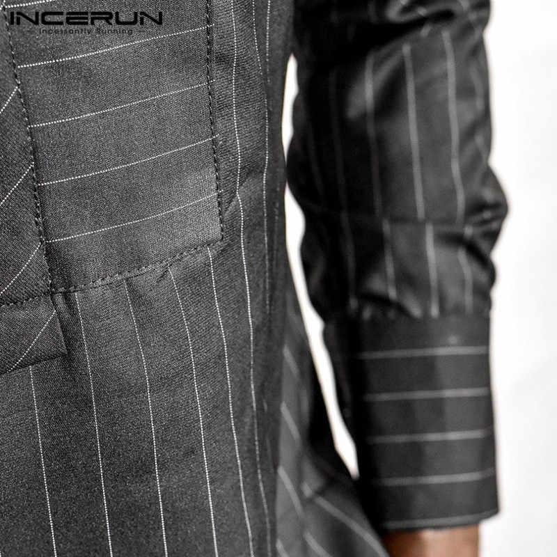Африканский платье халат Дашики мужские рубашки с длинными рукавами Модный черный Халат полосатая футболка Кению Нигерия Африка одежда Кафтан Халат