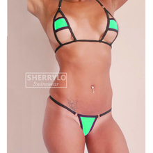 Micro Thong Bikini Minimal Coverage Swimsuit 2019 Sunbath Women's Swimwear Bathing Suits Women Black String Dancewear Exotic Tan extreme minimal coverage micro bikini g string mini bikinis set 2018 exotic tiny thong biquini women swimwear female swimsuit