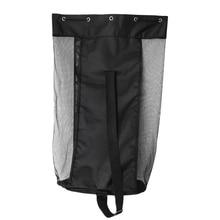 Canvas Mesh 15 Football  Ball Bag with Shoulder Strap Drawstring Closure Large Capacity Lightweight & Portable цена 2017