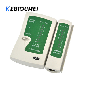 kebidumei Network Cable Tester RJ45 RJ11 Network Ethernet LAN Cable Testing Kit Professional Network Repair Line Detector
